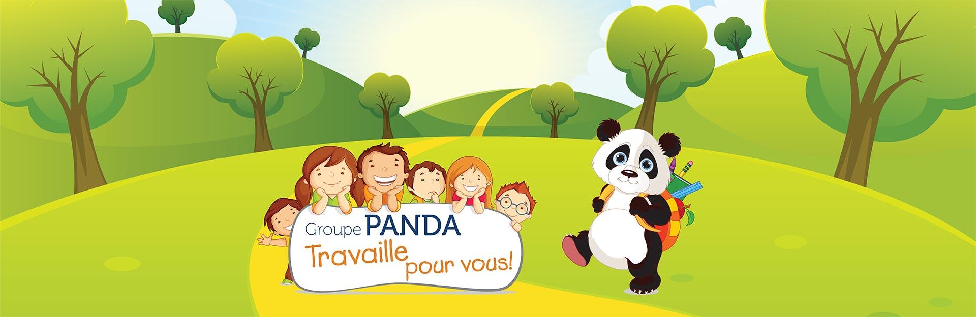 Groupe Panda travaille pour vous
